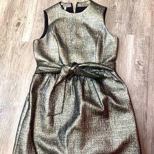 4C gold party dress